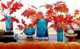 Trucuri simple pentru amenajarea locuintei in culori calde de toamna - FOTO