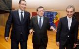 Ponta, după întâlnirea cu Leancă și Barroso, la Bruxelles: Republica Moldova merită un regim liberal...