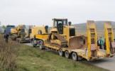 Chevron continuă lucrările de amenajare la Pungeşti. Circulaţia în zonă a fost reluată