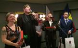 "La Cracovia s-a inaugurat clubul românesc ""Drum Bun"""