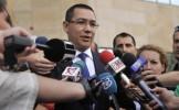 Ponta: Grupul PSD şi cel liberal-conservator vor vota pentru ridicarea imunităţilor