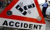 Accident de circulaţie  în afara localităţii Apa