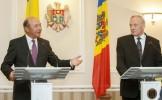 """Mesajul lui Băsescu în Moldova: """"Sper să fiţi mai pregătiţi ca noi pentru parcursul integrării ..."""