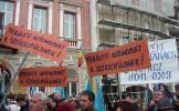 Mitinguri pentru autonomie în peste 100 de localităţi din Transilvania