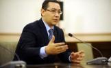 Ponta: Astăzi, mai uşor schimbăm un preşedinte decât un funcţionar public